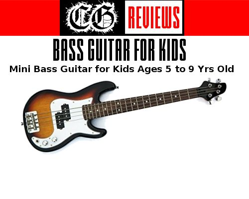 7 Best Bass Guitars For Kids 3 4 Size 4 To 12 Yrs Old Constantine Guitars In 2020 Guitar Kids Bass Guitar Guitar