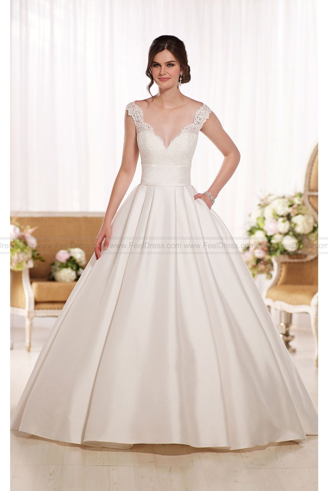 Essense of Australia Wedding Dresses Ball Gown Style D1790 | Essense ...