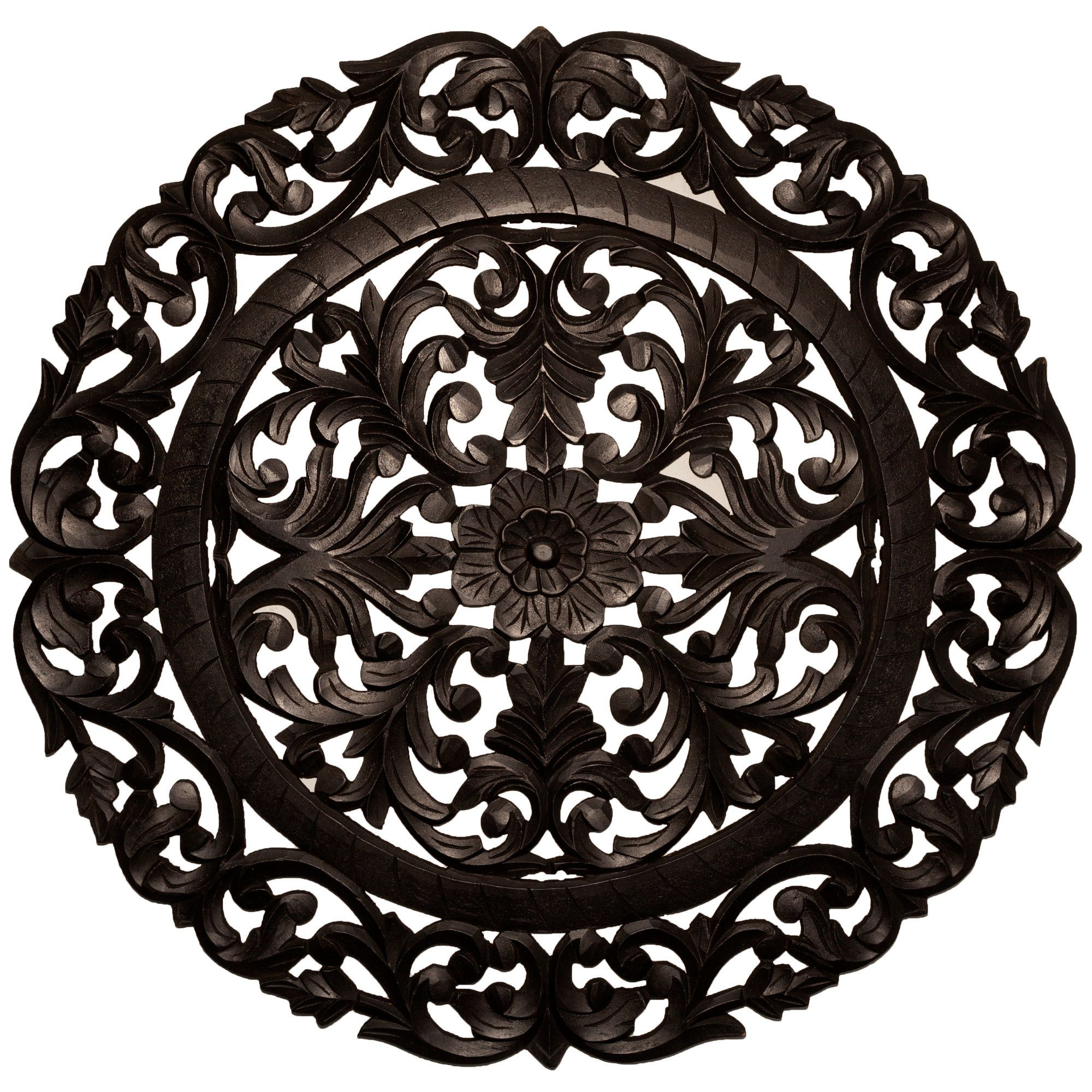 Round handcrafted medallion wall décor wall décor and walls