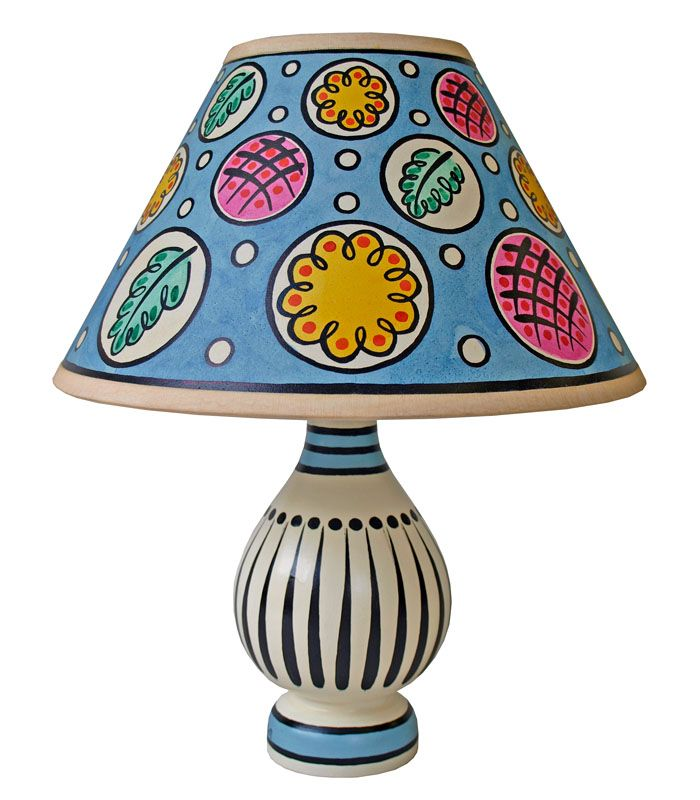 Cressida Bell Lamp Lamp Painting Lamp Shades Interior Design Living Room