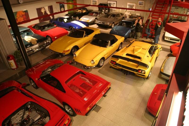Ron tonkin s car collection garages pinterest cars