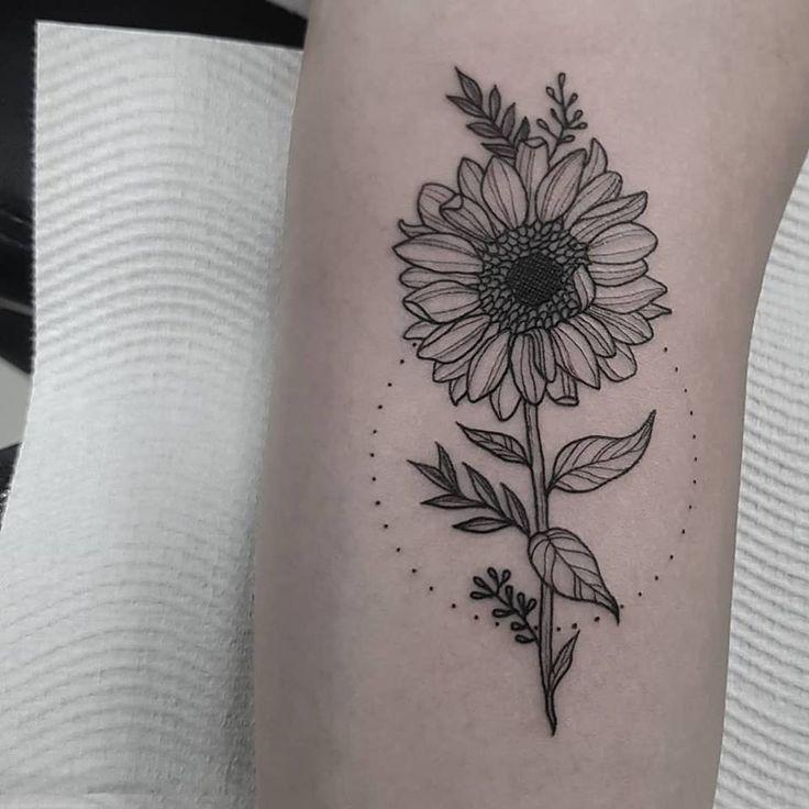 Photo of 50+ beautiful sunflower tattoo ideas to brighten up your day – Tatt …
