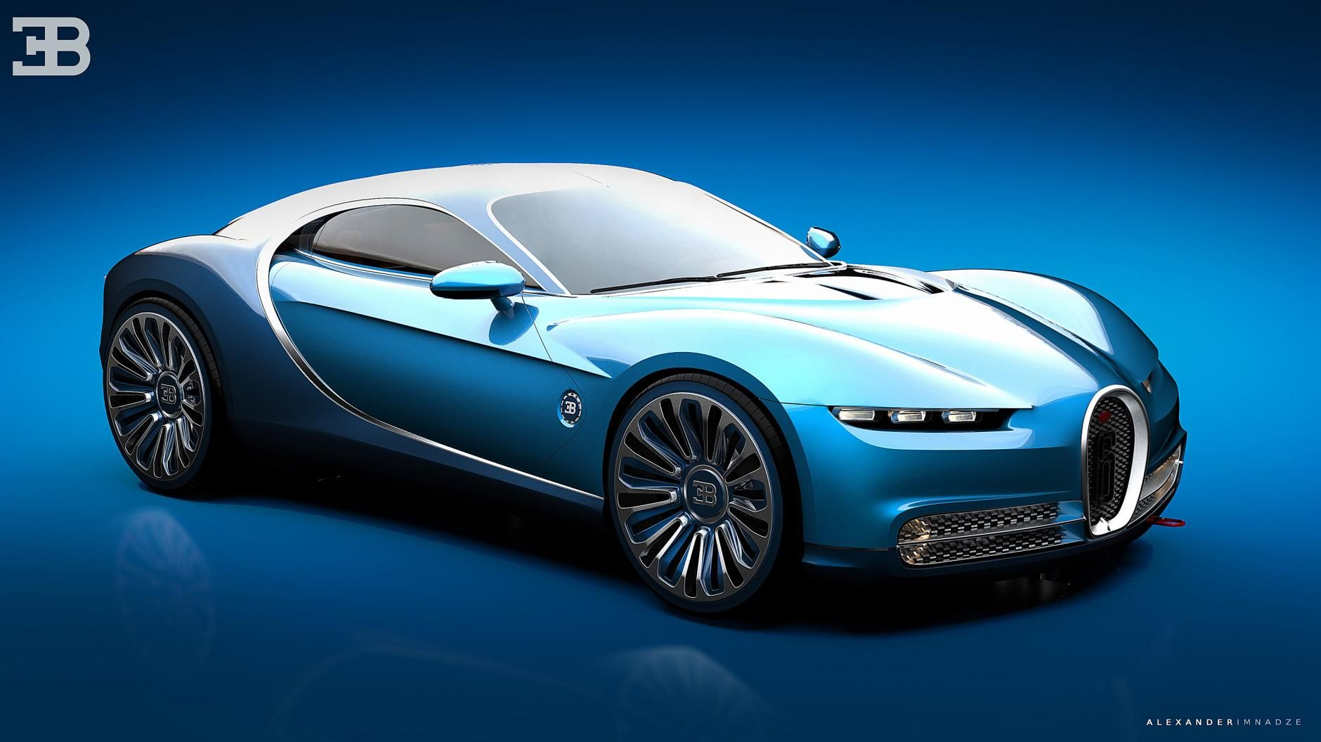 newest bugatti concept - HD 1600×890