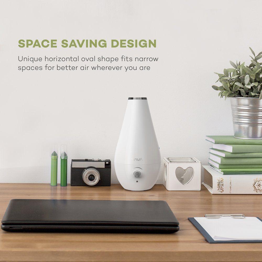 Amazon.com: VAVA Cool Mist Humidifier, 60oz/1.8L Space-Saving ...
