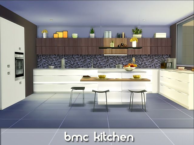 Sims 4 CC\'s - The Best: bmc Kitchen by Nikadema | S4CC Decor ...
