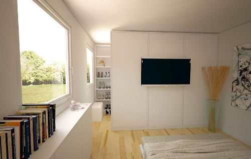 Begehbarer kleiderschrank im schlafzimmer integrieren  Begehbarer Kleiderschrank | Ideen rund ums Haus | Pinterest ...