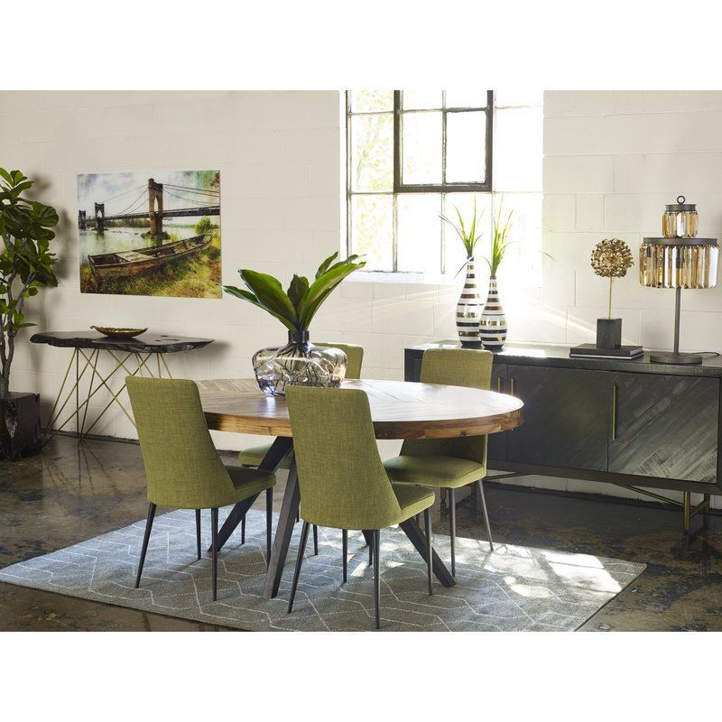 Serita Dining Table Oval Table Dining Modern Rustic Dining