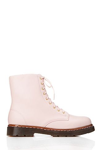 vegan pastel pink doc martens knock offs from forever 21. Also ...