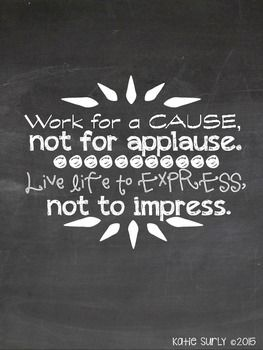 Encouraging Workplace Chalkboard Quotes Quotes