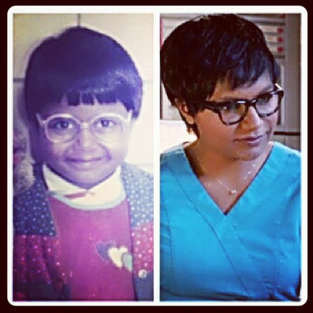 I Guess Mindy Kaling Was Always Cute W Short Hair The Mindy Project Mindy Kaling Cute