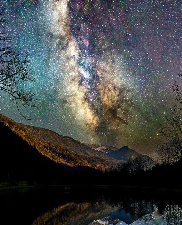 Kostenloses Bild Auf Pixabay Milchstrasse Sternenhimmel Sternenhimmel Milchstrasse Sternen Himmel