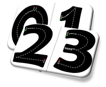 sur pinterest j 39 ai vu l 39 image d 39 un chiffre 3 sous forme d 39 une route sur laquelle faire rouler. Black Bedroom Furniture Sets. Home Design Ideas