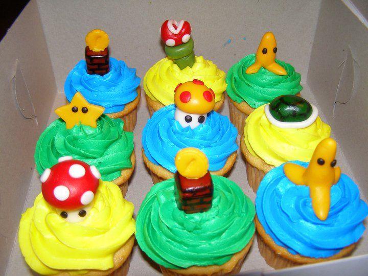 Mario Cupkakes