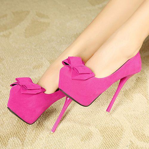 Cute Pink High Heels