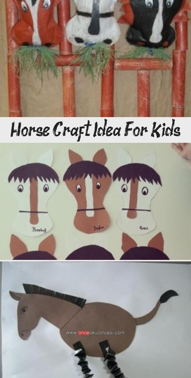 Horse Craft Idea For Kids Crafts And Worksheets For Preschool Toddler And Kindergarten Toysworksheet1stgrades Toy Diy Kids Toys Horse Crafts Farm Preschool [ 1485 x 750 Pixel ]