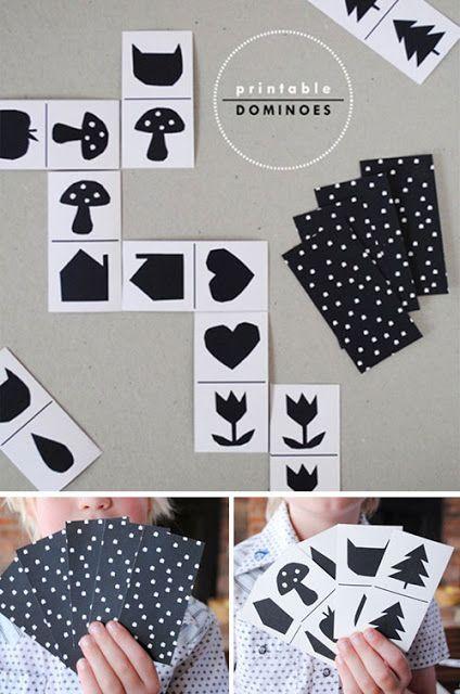 Gi det videre: Bildedomino - Picture domino