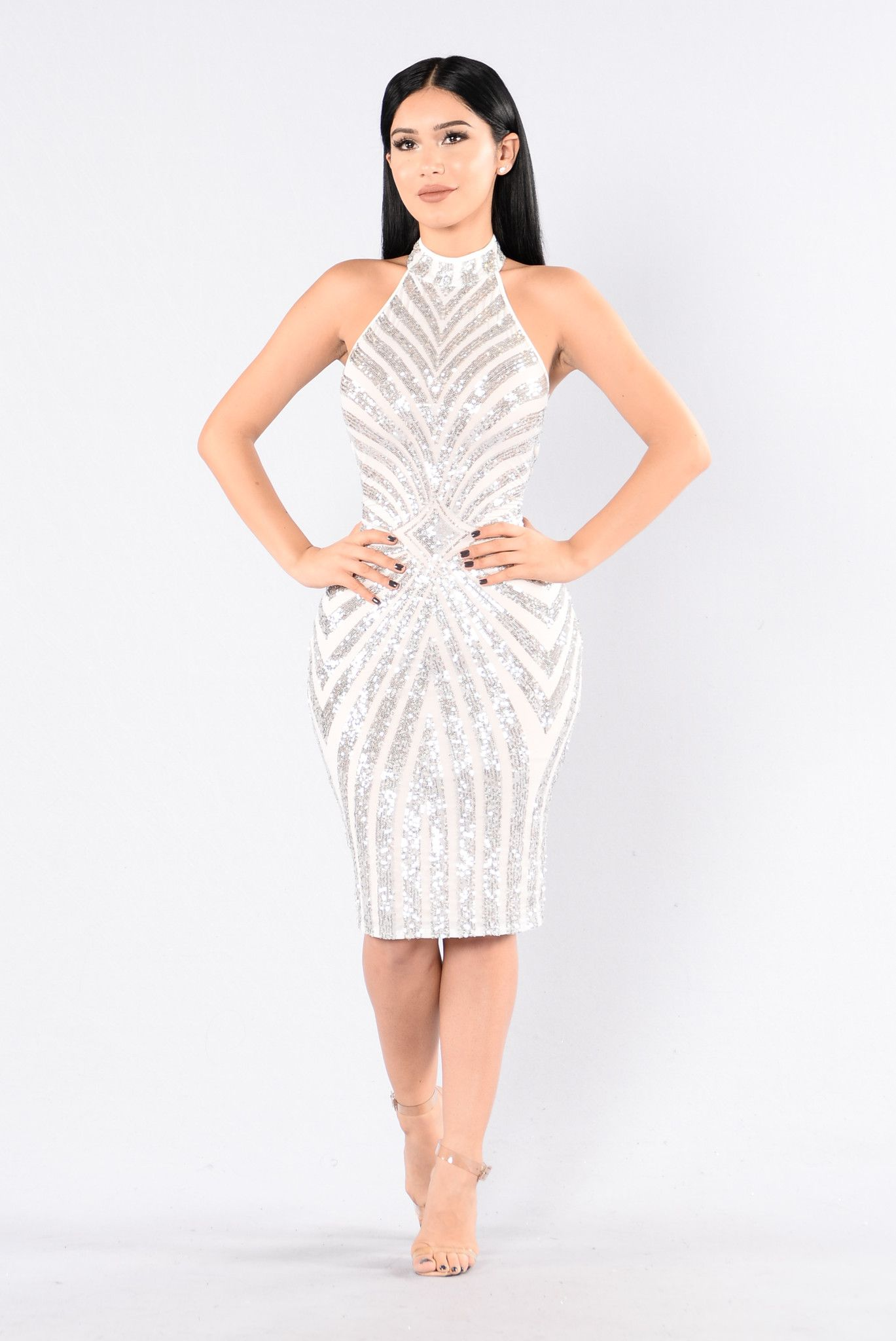 The main attraction dress silver pinterest main attraction and