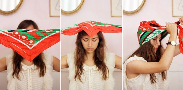 Turn Your Scarf Into A Turban Hair Style Pinterest Coiffure