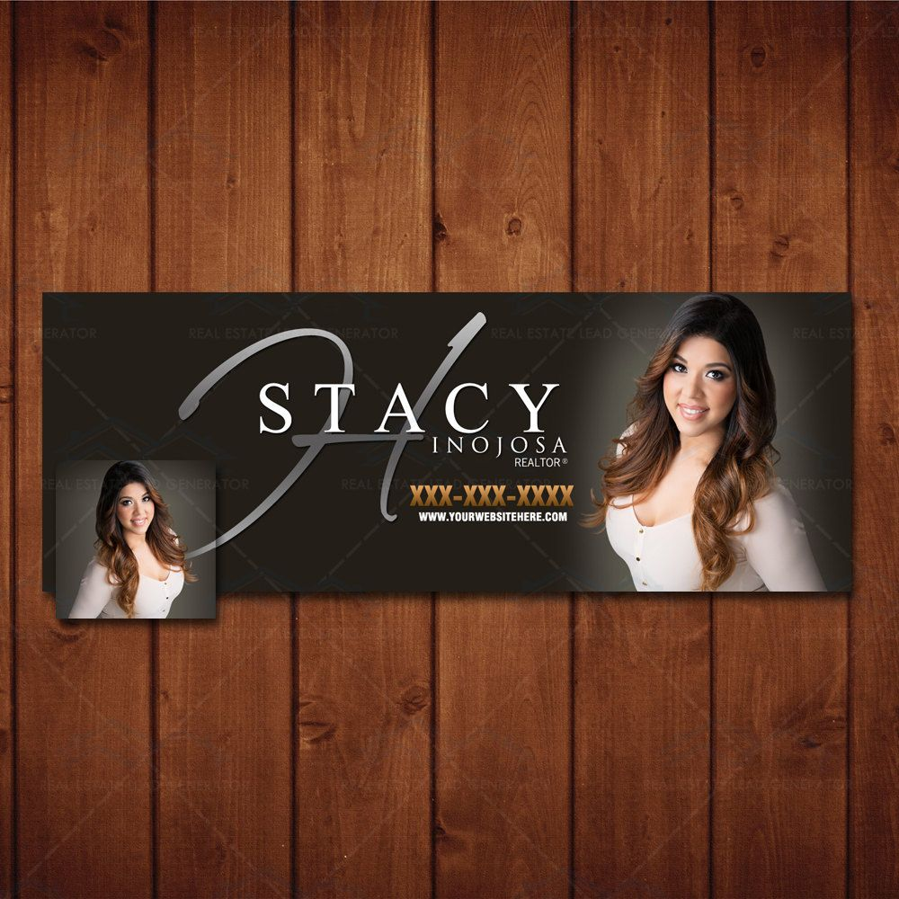 Realtor Branding Facebook Cover & Profile Design, Real Estate