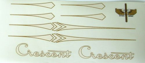 Crescent early decal set Swedish