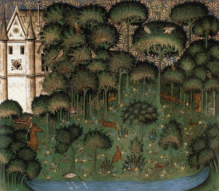 Image result for medieval manuscript gardening