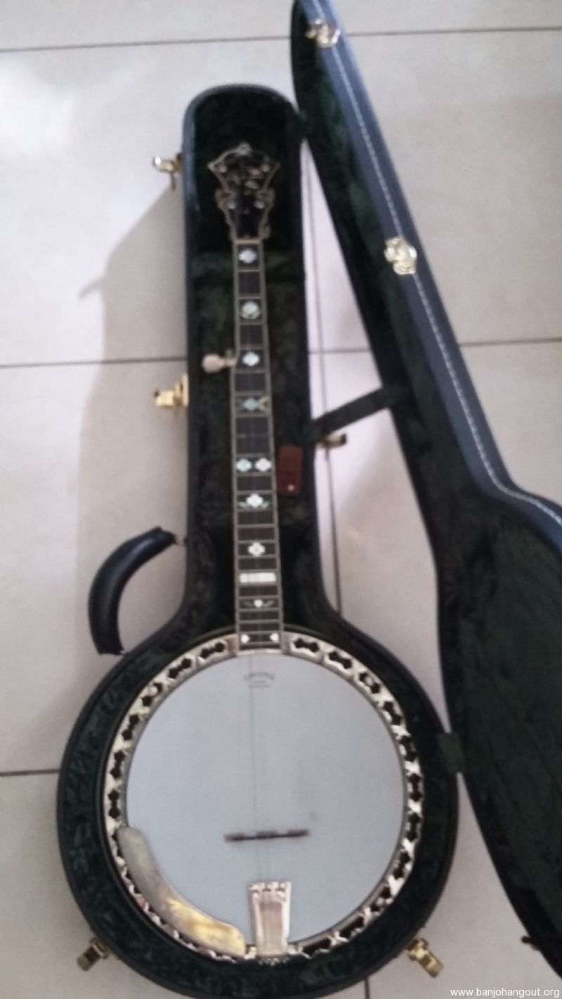 2007 STELLING VIRGINIAN - Used Banjo For Sale at BanjoBuyer com