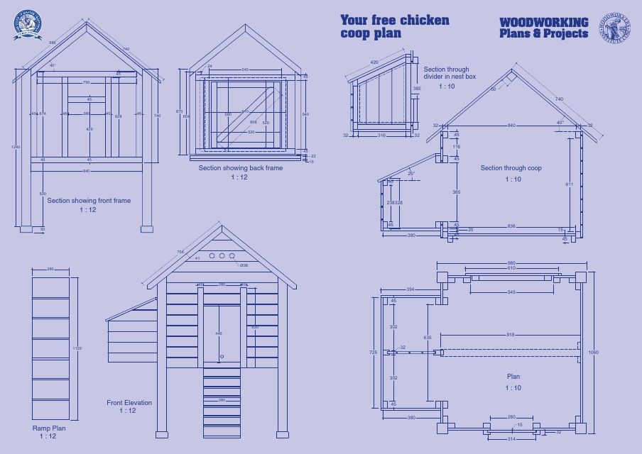 build it with bosch chicken coop blueprint | klussen | pinterest