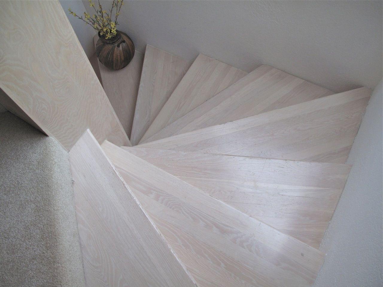 Whitewashed Oak Wood Floors. Grey Wide Plank Oak Hardwood