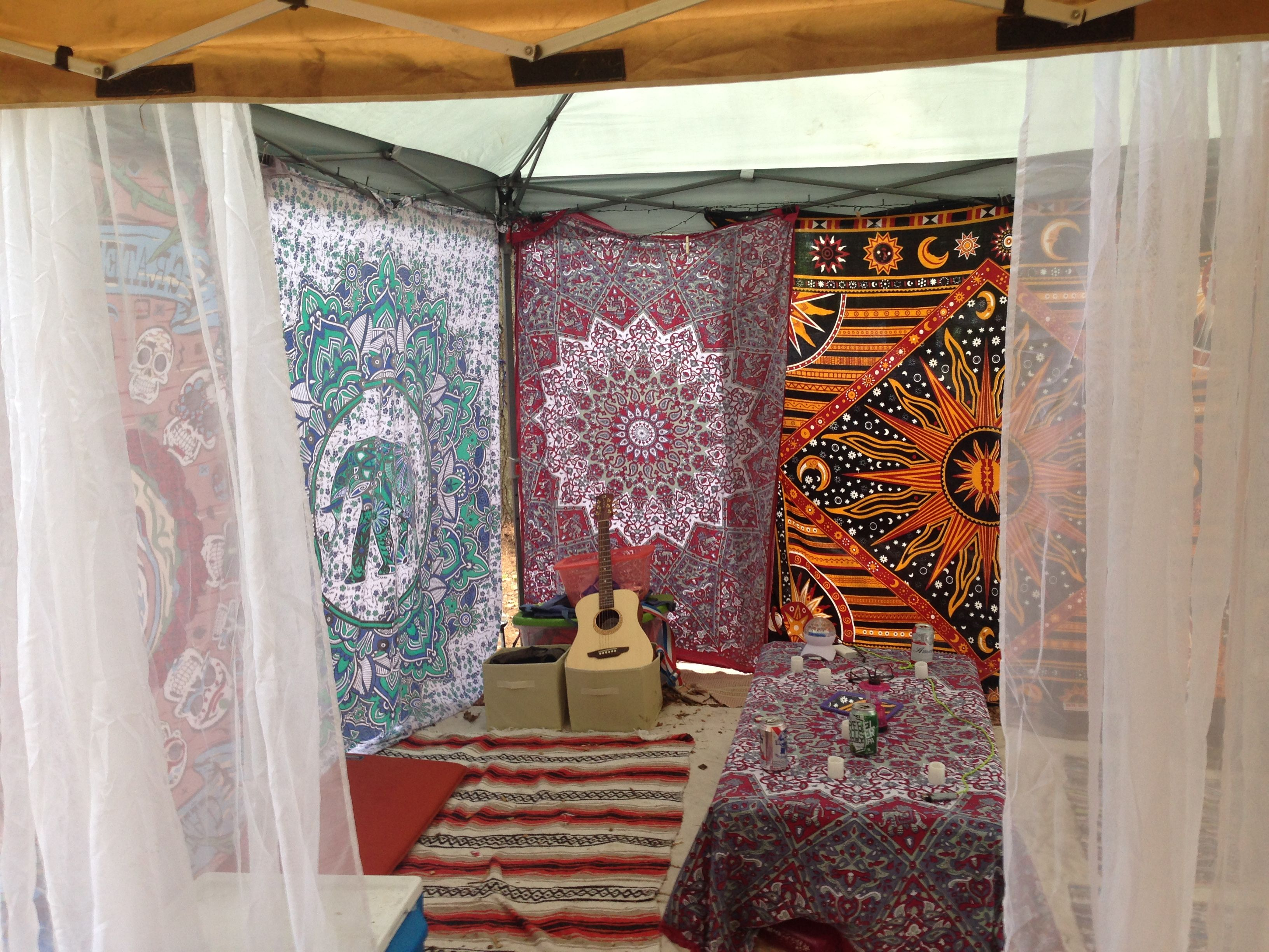 my festival campsite festival setup canopy festival
