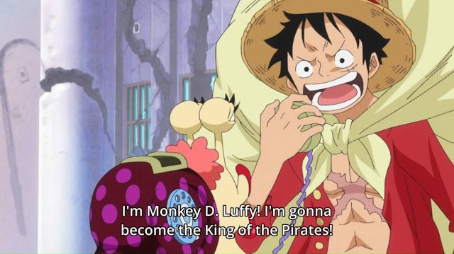 Answering Phone Calls Luffy The Pirate King Anime