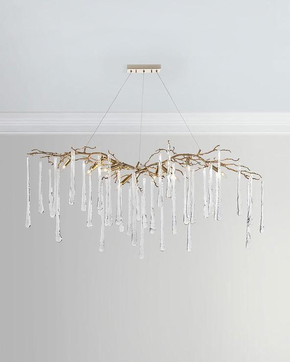 John richard brass branches teardrop chandelier decor furniture john richard brass branches teardrop chandelier aloadofball Choice Image