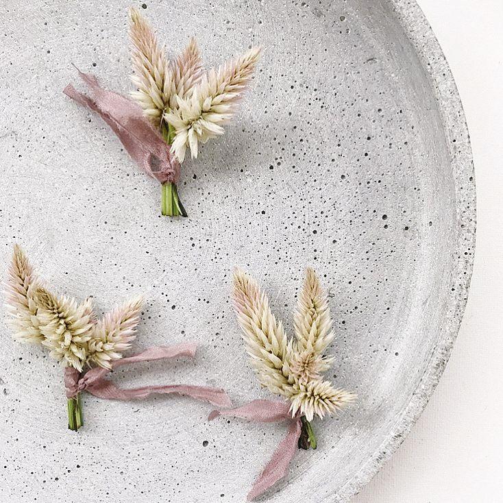 Derrick Jamie Bohemian Garden Wedding 19: Trille Floral Textural Bouts For Utah Weddings #bout