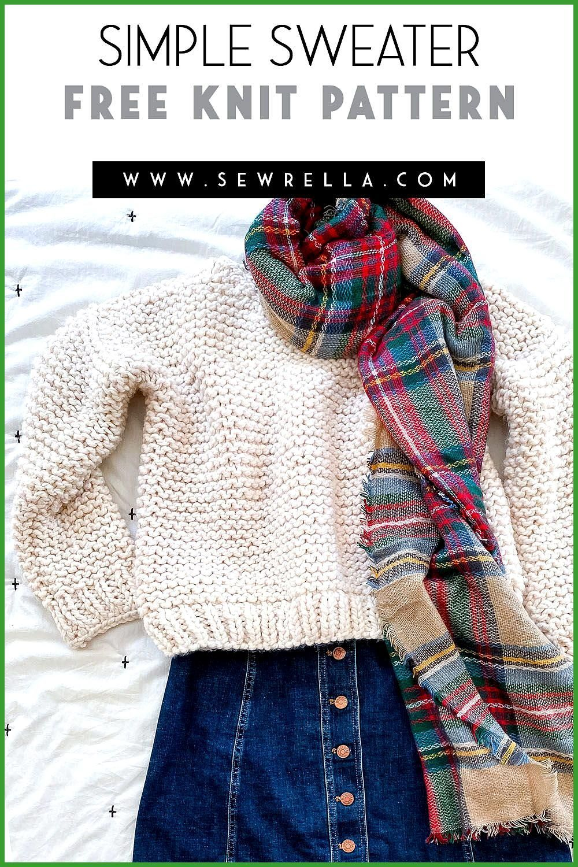 Simple Knit Sweater : Simple Knit Sweater, #Knit #Simple # ...