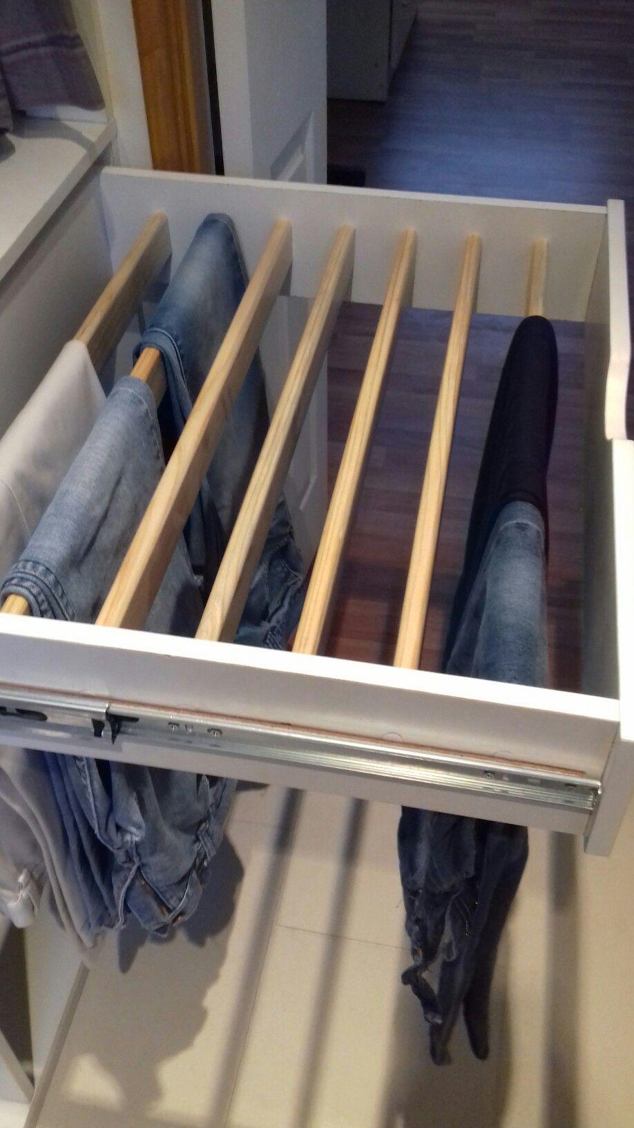 Colgador Para Pantalones Diseno De Closet Armario De Ropa Muebles De Entrada