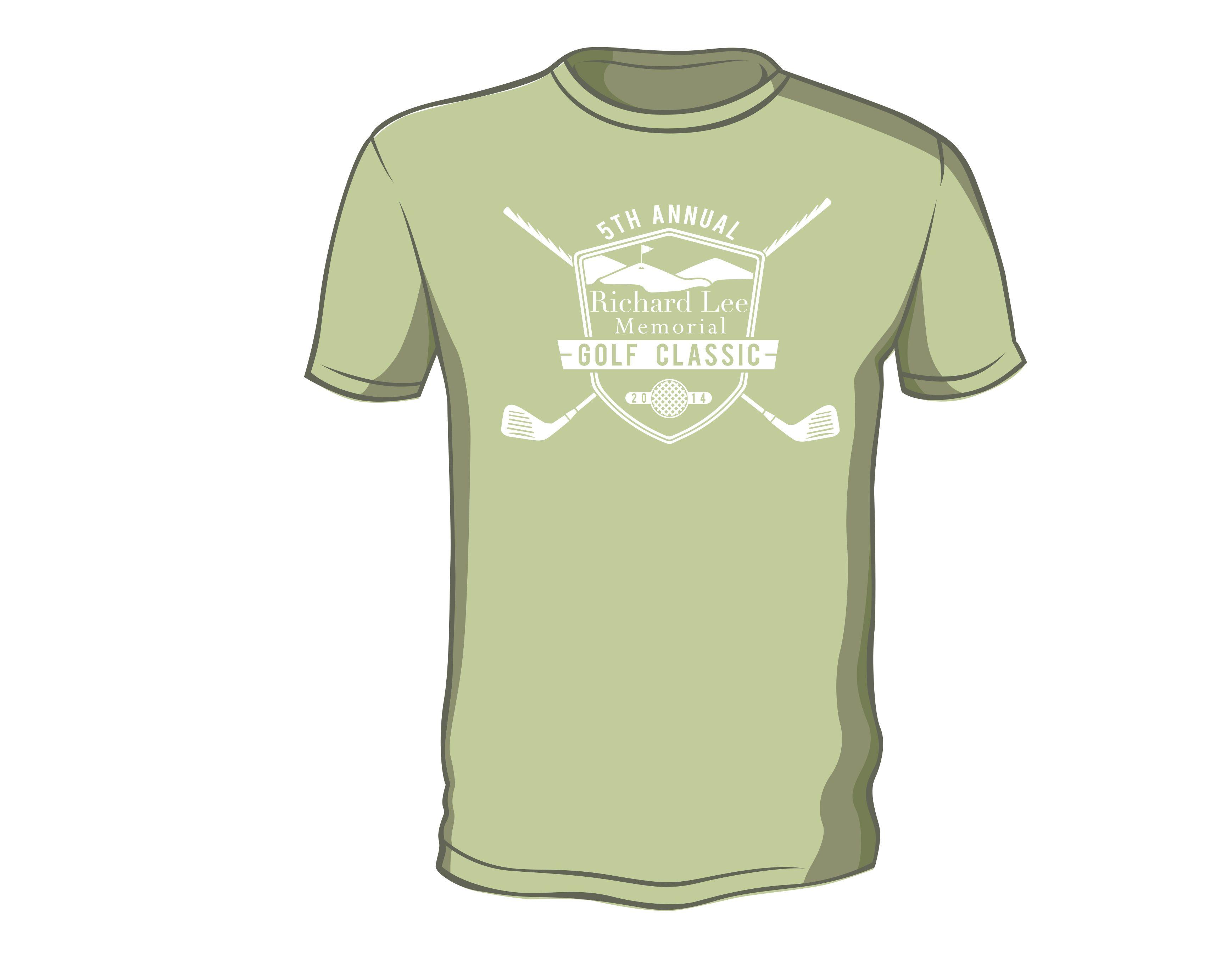 Richard Lee Golf Outing T Shirt Design Helen Demuth Photo