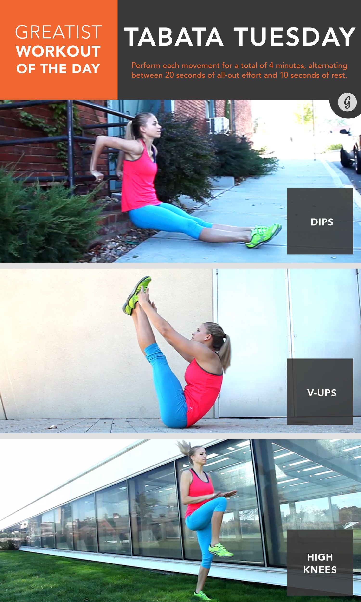Greatist Workout of the Day: Thursday, August 6th #fitness #bodyweight #workout