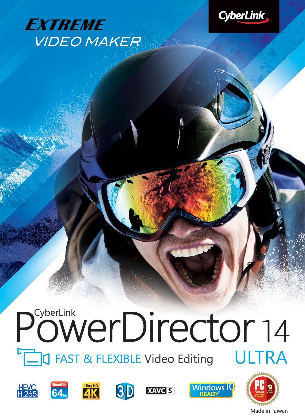 Cyberlink PowerDirector 14 Ultra (PC) Video editing