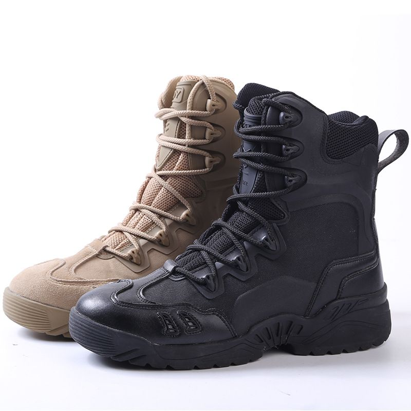 acecfb5fa3a Army Boots Men Brand 39-45 Tactical Boots Outdoor Waterproof Rubber ...