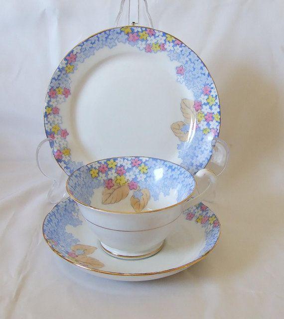 Vintage Gosvenor Fine bone china By Jackson & by TheMewsCottage, £26.00