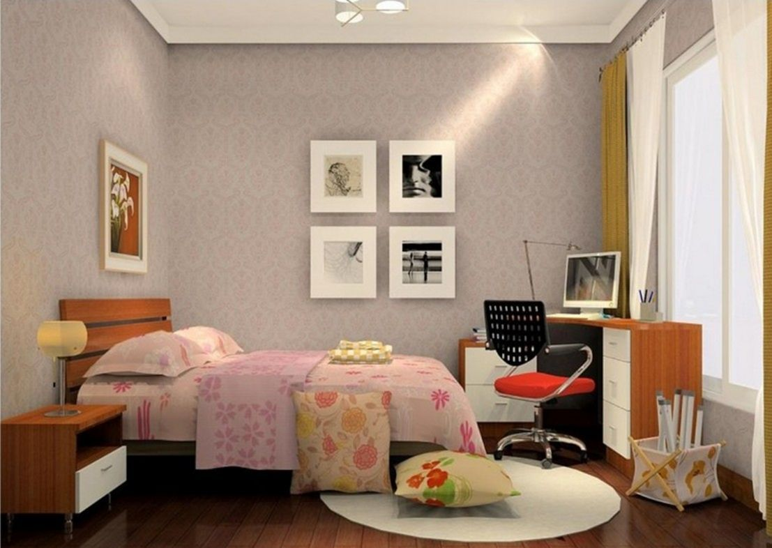 25+ Awesome And Simple Bedroom Wall Decorating Ideas On A ...