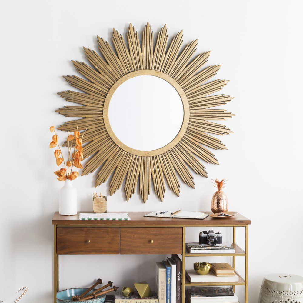 A mirror that shines as bright as the sun in your interior this is