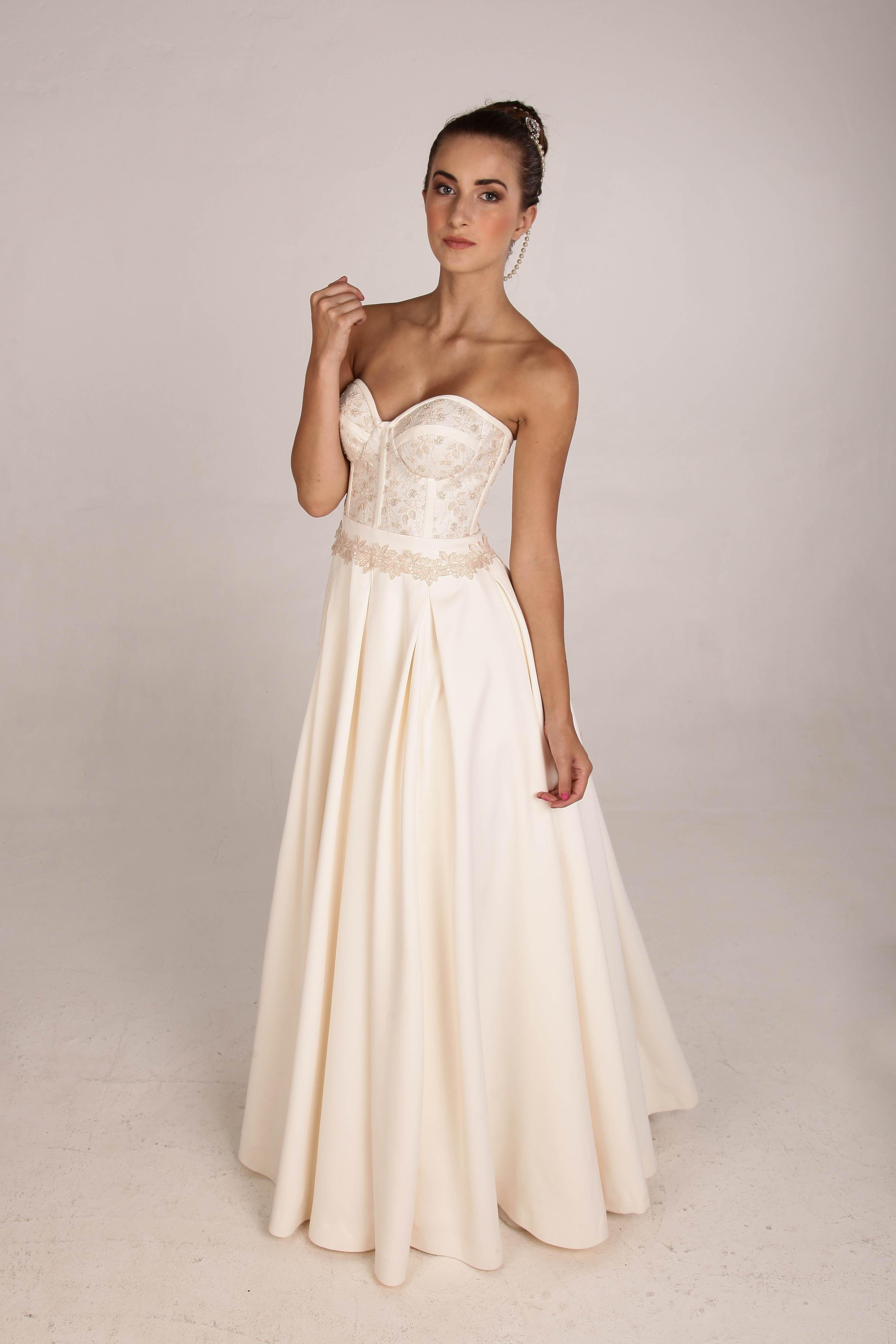 Estelle Bridal Collection Visit The Facebook Page Https Www Facebook Com Estellevisserdesigns Bridal Collection Strapless Wedding Dress Bridal