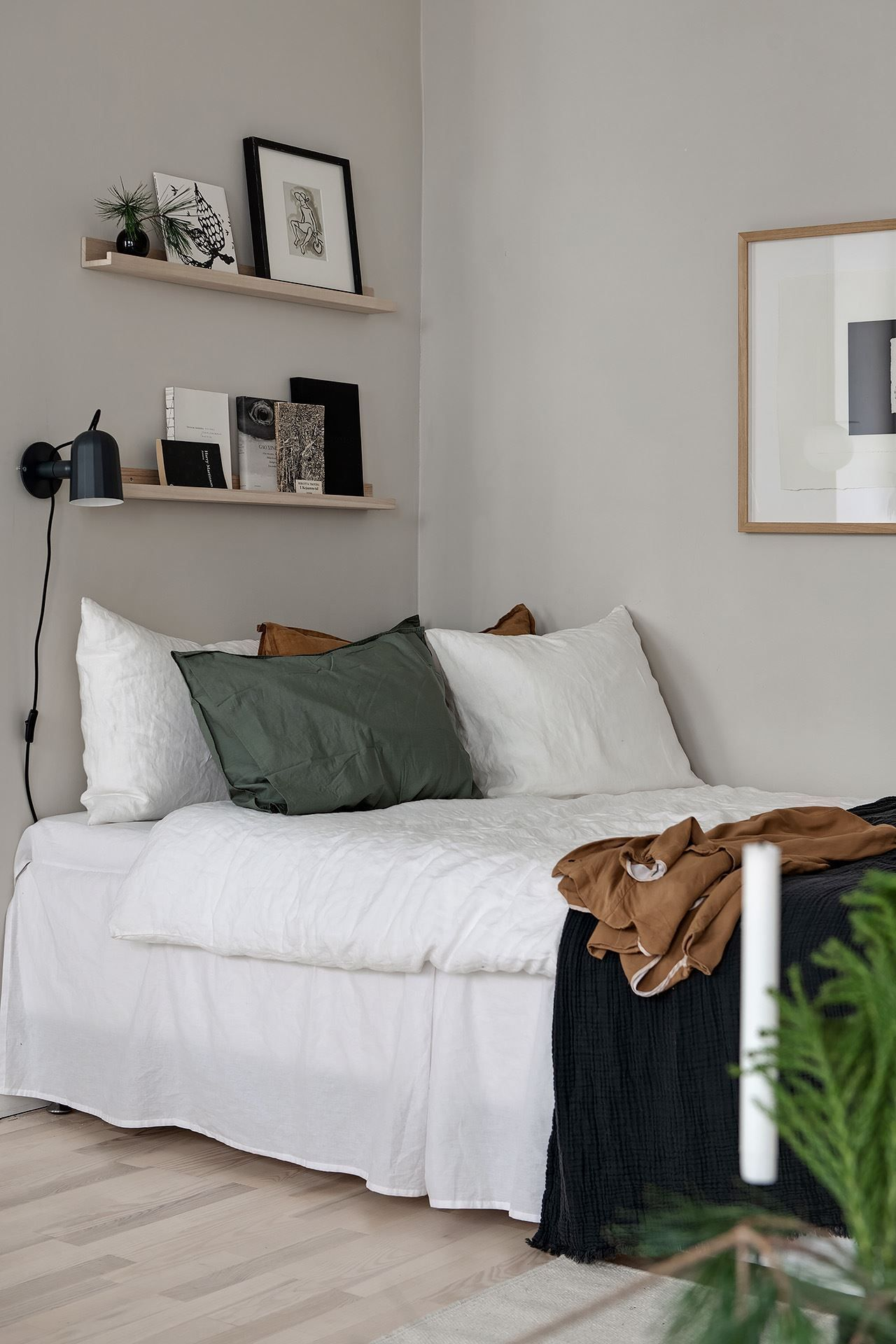 Photo of Stylish beige studio home