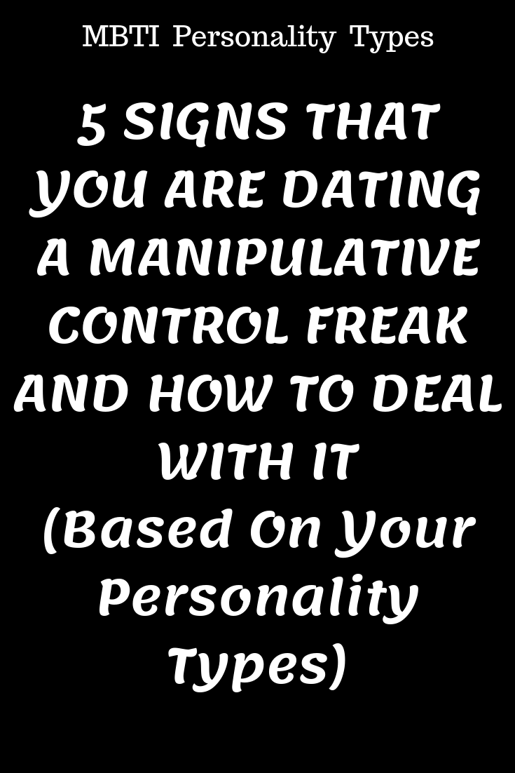 How to know if you are dating a control freak