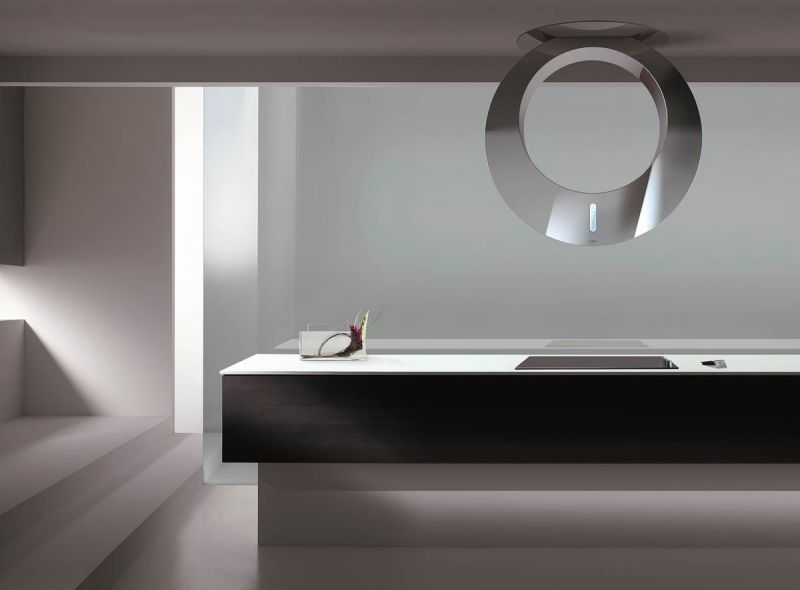 Moderne Dunstabzugshaube als Blickfang in der Küche - 100 Design ...