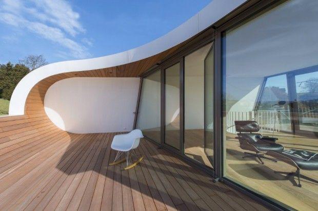 Flexhouse une maison ruban en Suisse par le studio d\'architecture ...