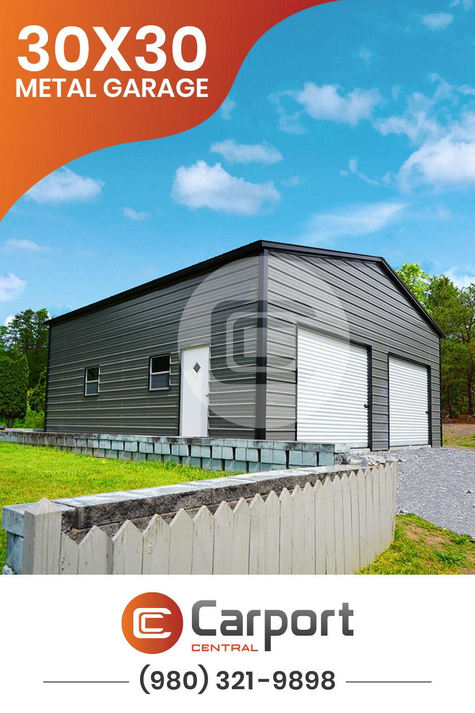 Double Car Garages Metal Garages Garage Prices Metal Building Prices