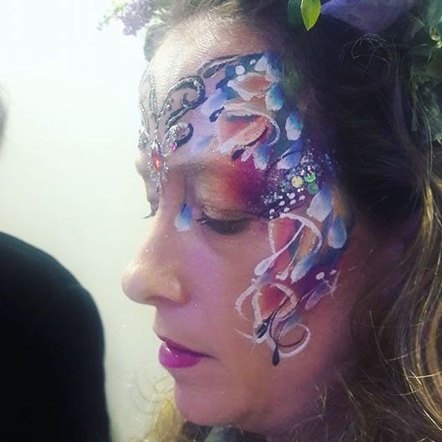 Henna By Leyla Shemesh: Flower Fairy Facepaint