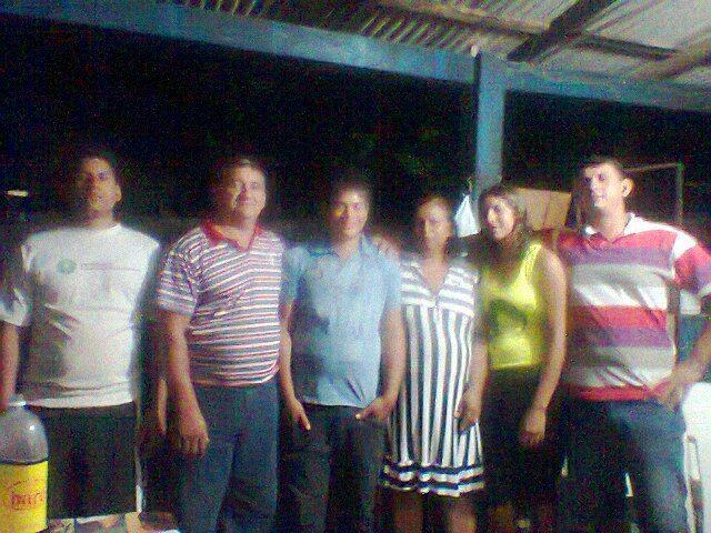 Evilásio e família no aniversário do Henrique em 17/02/2012.