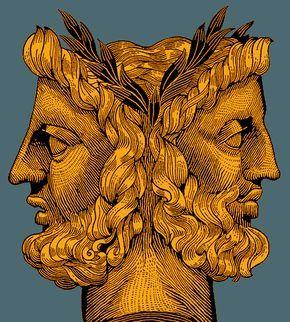 god tattoo Roman janus